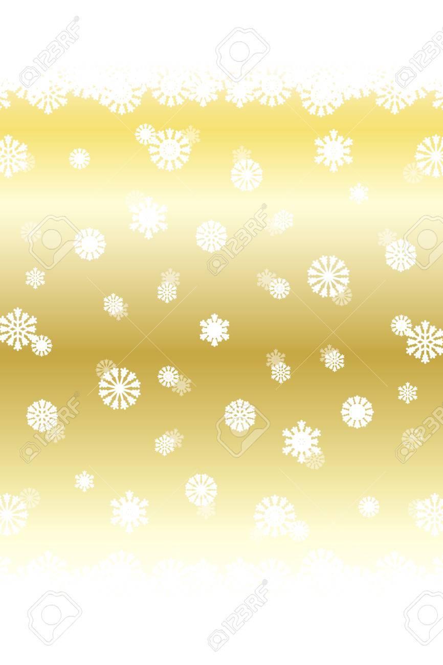 Kristall-Tapete Material, Schneeweiß, Schnee, Weihnachten ...