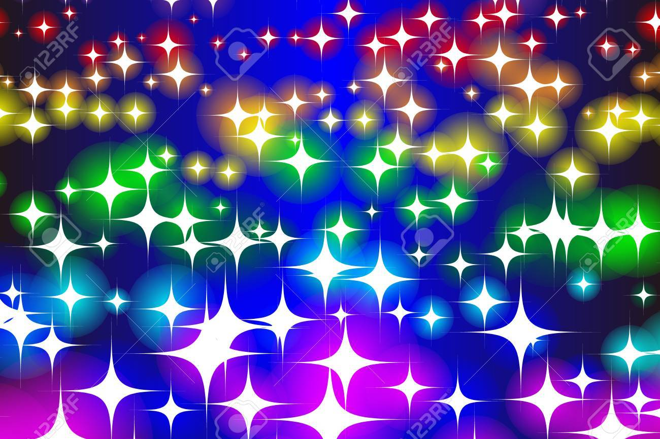 seamless patter of sparkling lights for wallpaper template royalty