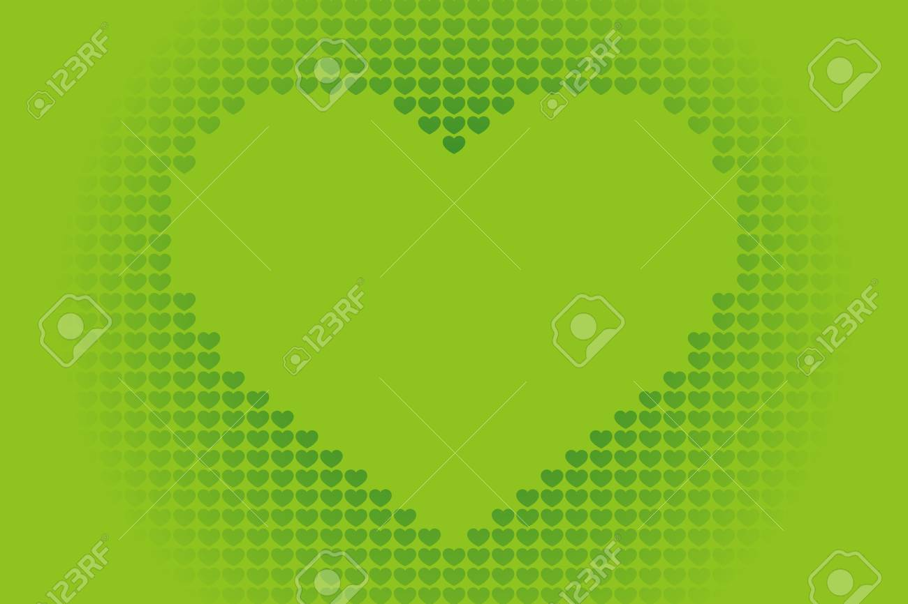 Background Material Wallpaper Heart Pattern Symbol Pattern
