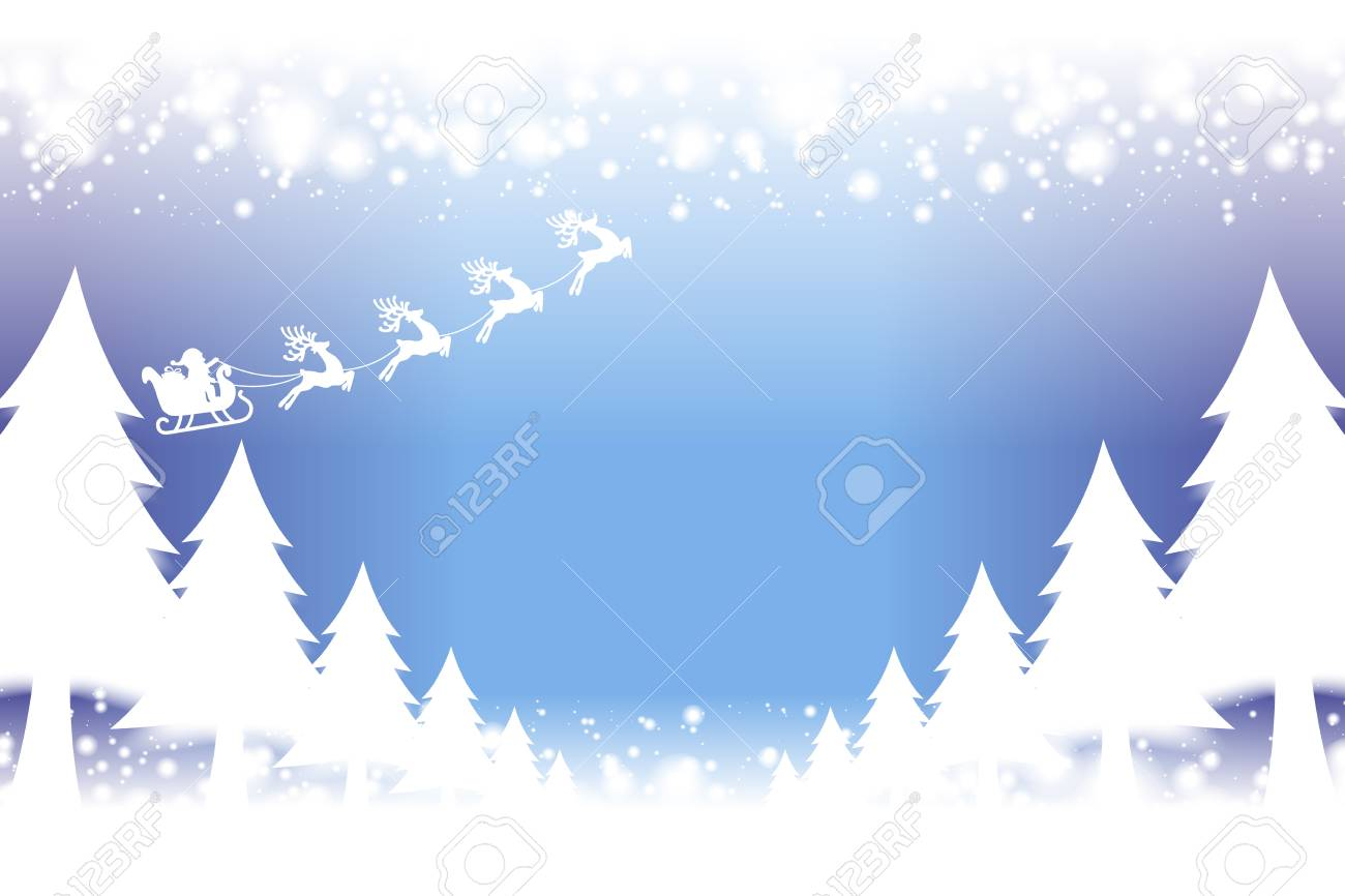 Mountain Christmas Cards.Background Material Wallpaper Merry Christmas Cards Trees