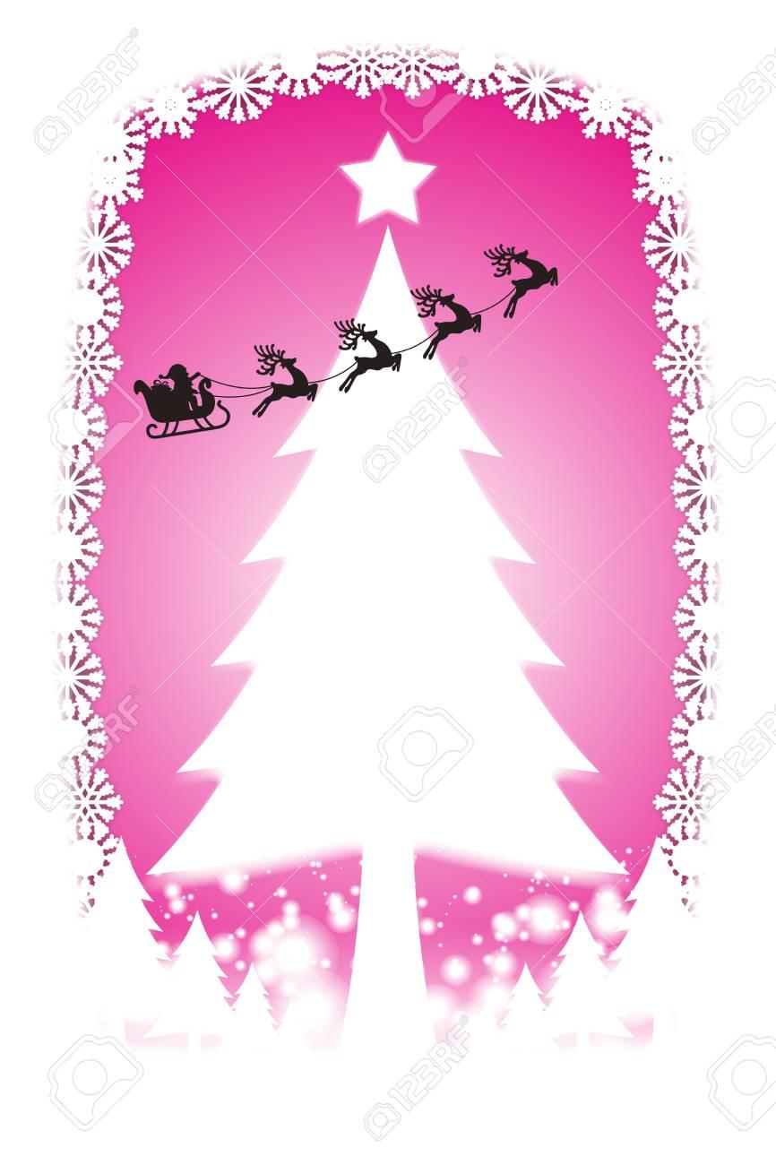 Weihnachtskarten Einladung.Stock Photo