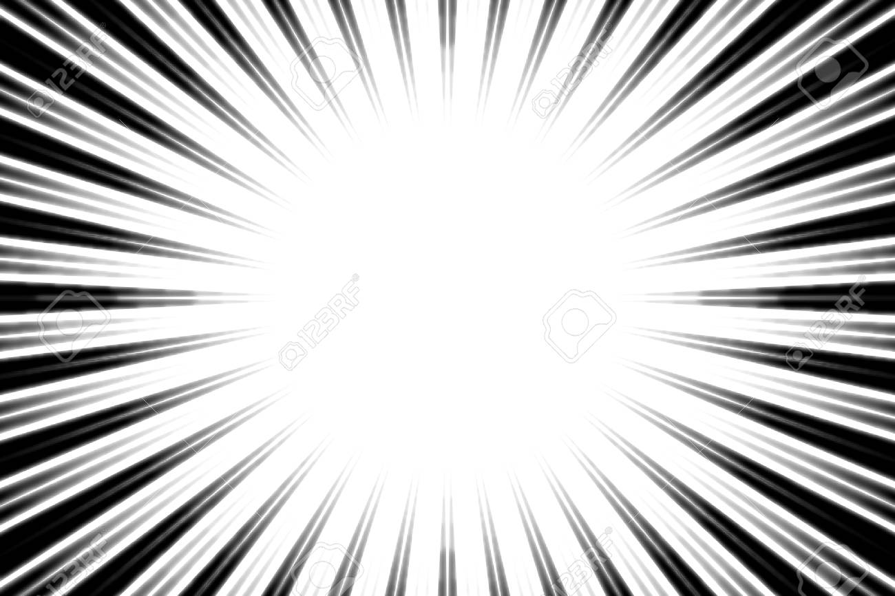Background material central line manga comics animation expressions effects