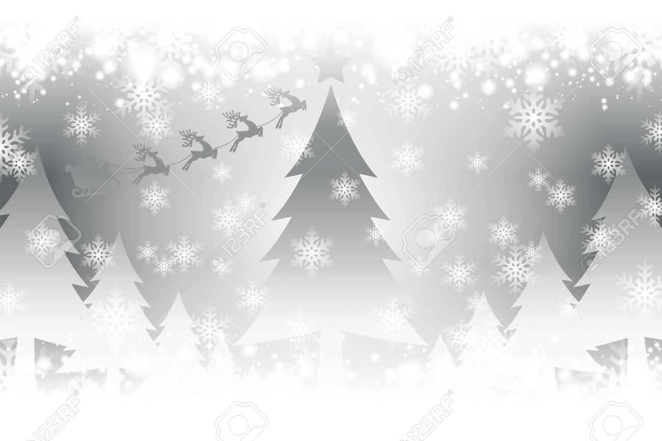 White Christmas Snow Background.Crystal Image Background Illustration White Christmas