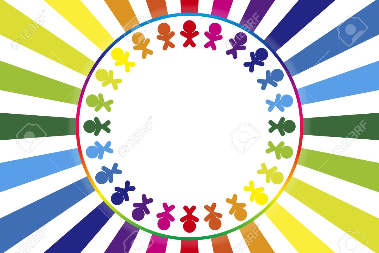 background material, illustration, image, circle of people, friends, family love, fun companion, teamwork, bond, cooperation, good friend, free - 132272580