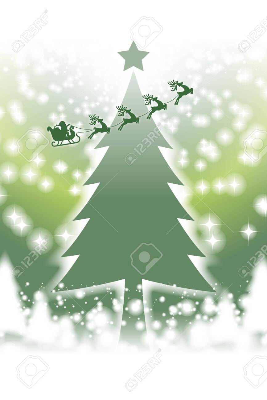 Vector Illustration Background Material Wallpaper Christmas Tree Royalty Free Cliparts Vectors And Stock Illustration Image 129307246
