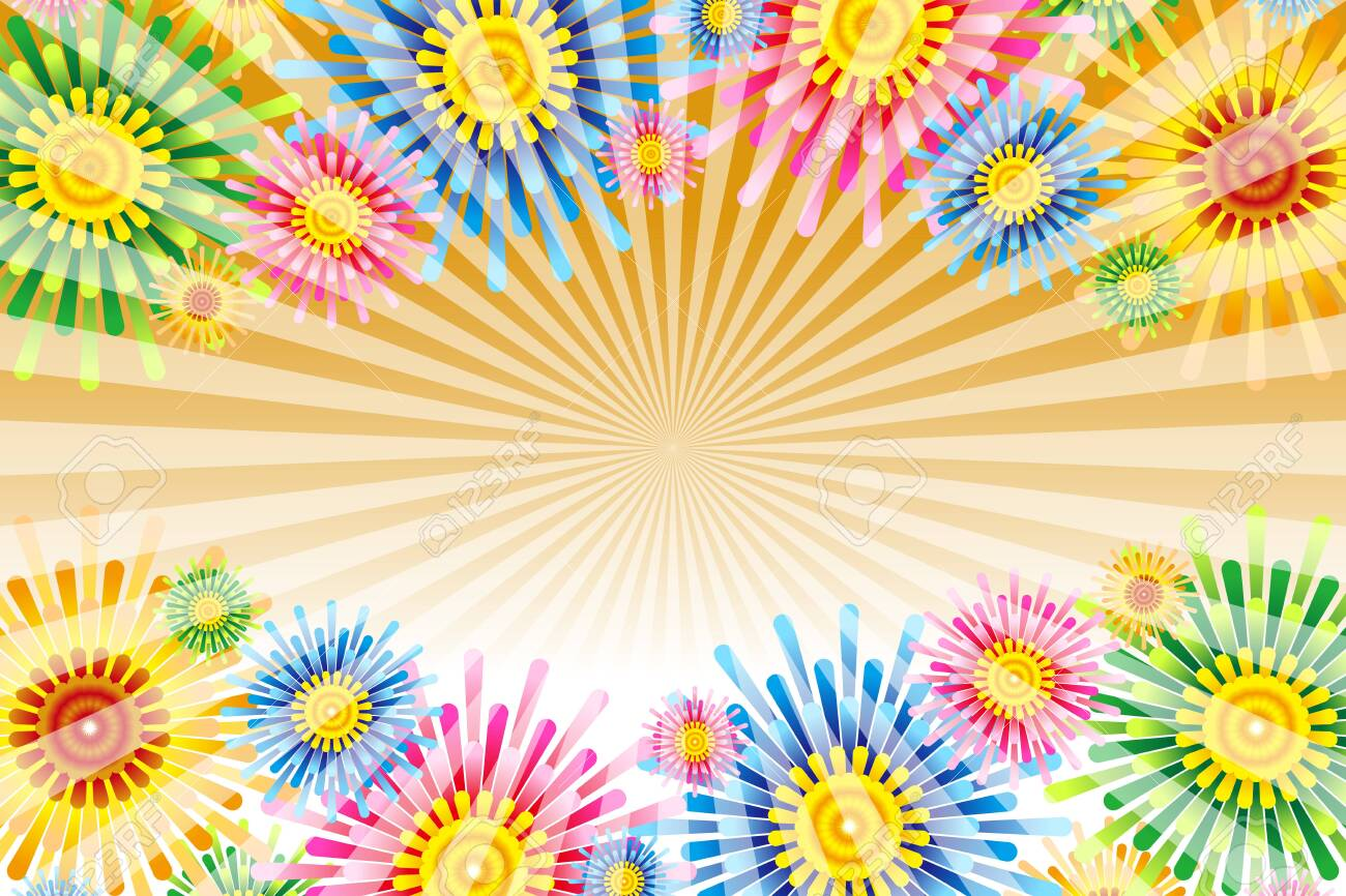 Vector Illustration Background Wallpaper, Colorful, Tropical Resort, Floral Pattern, Pattern, Flower, Summer Event, Free - 132653966
