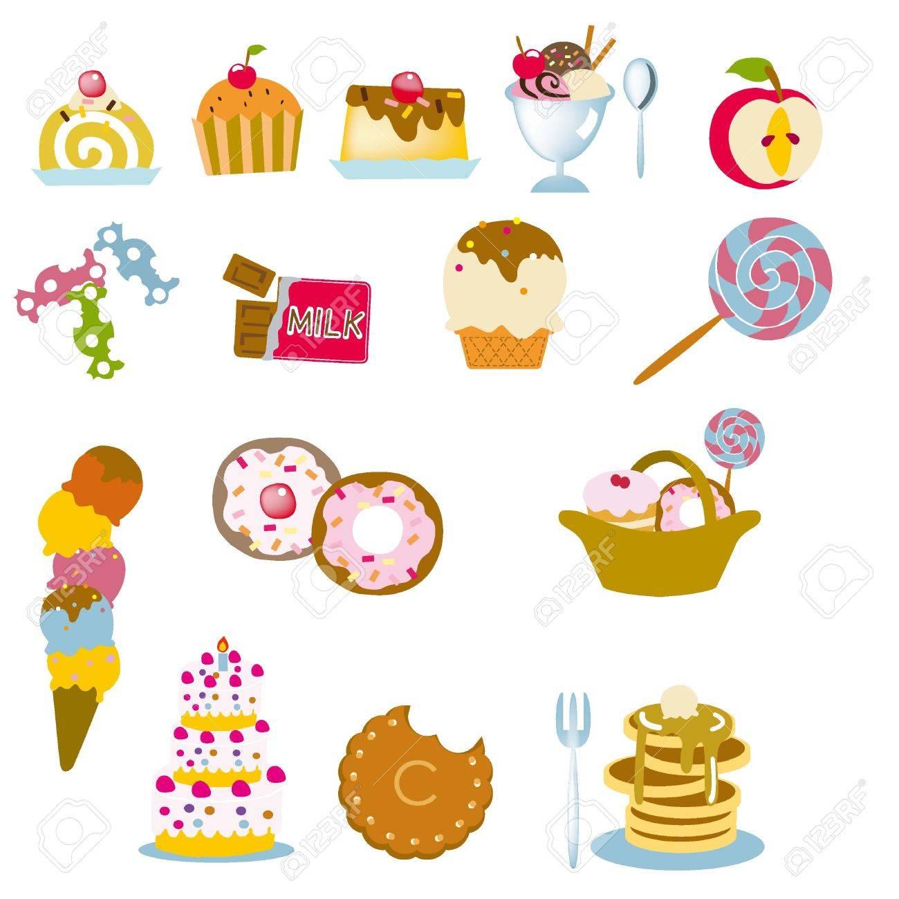 お菓子イラスト デザイン素材のイラスト素材ベクタ Image 67296377