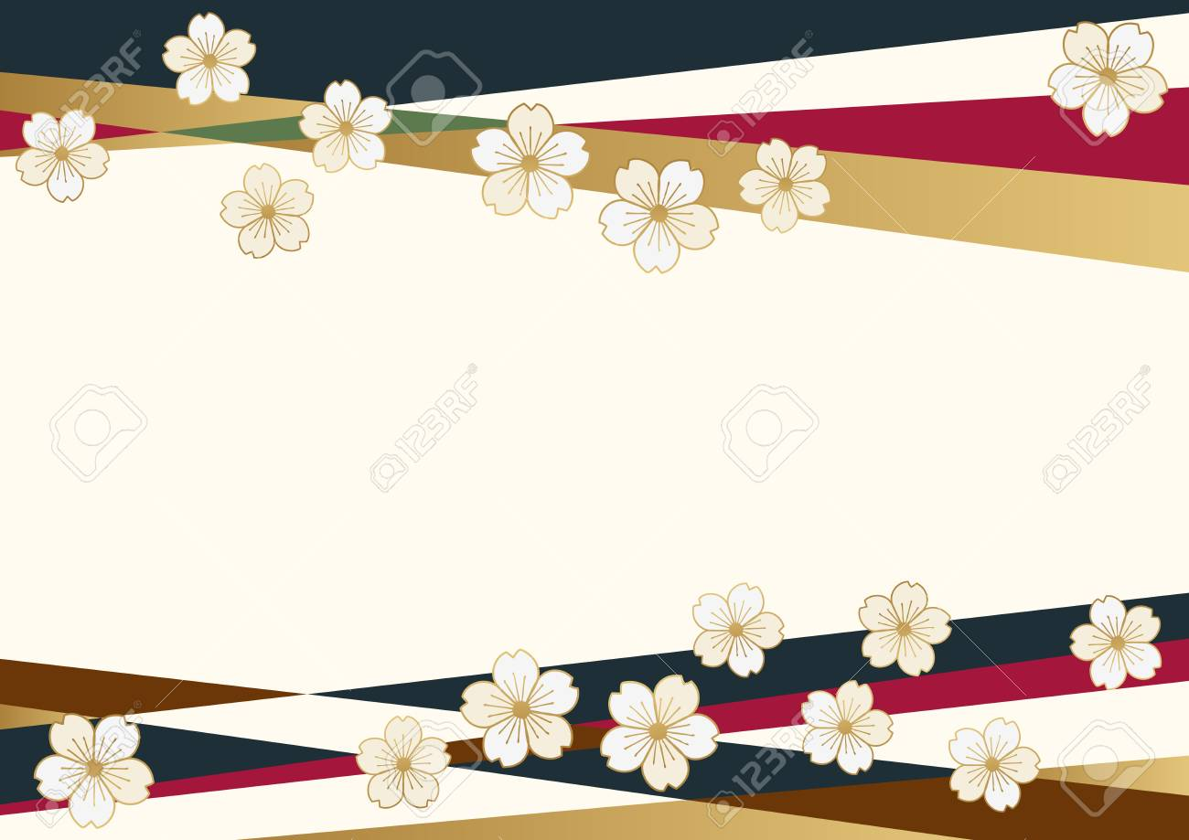 Cherry blossom background material  The background material of