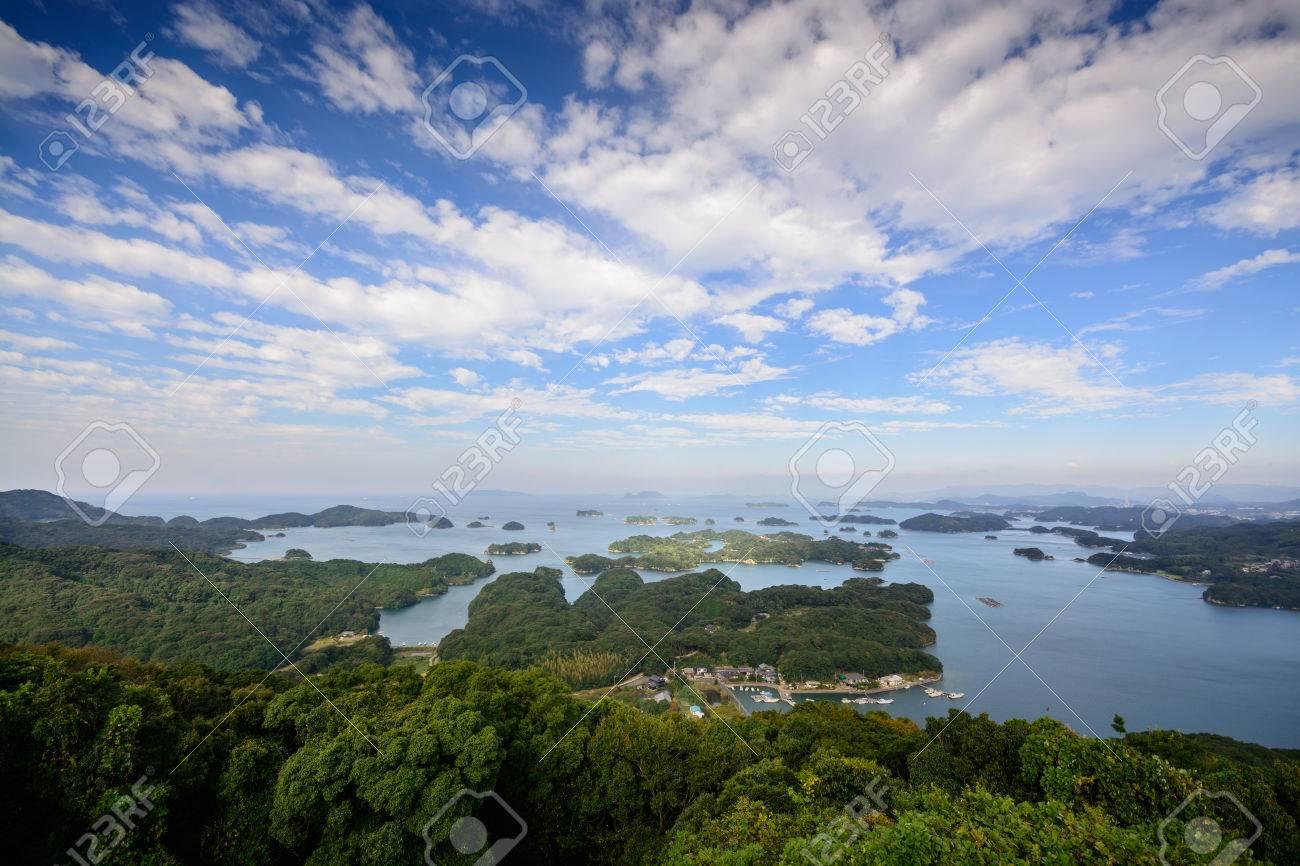 Ninety Nine Islands Kujukushima in Sasebo, Nagasaki, Japan - 46358212