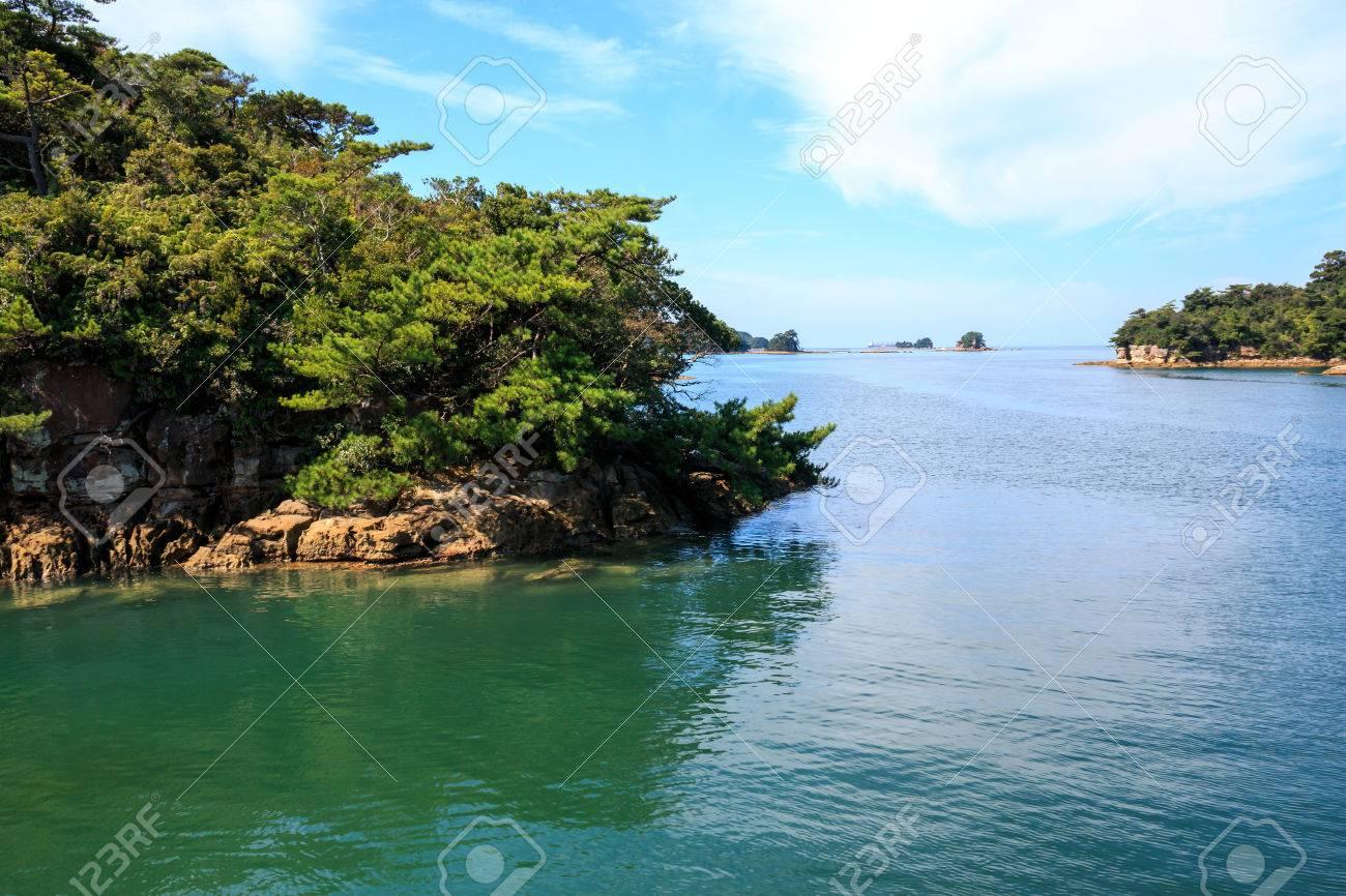Ninety Nine islands in Sasebo, Nagasaki, Japan. - 57563487