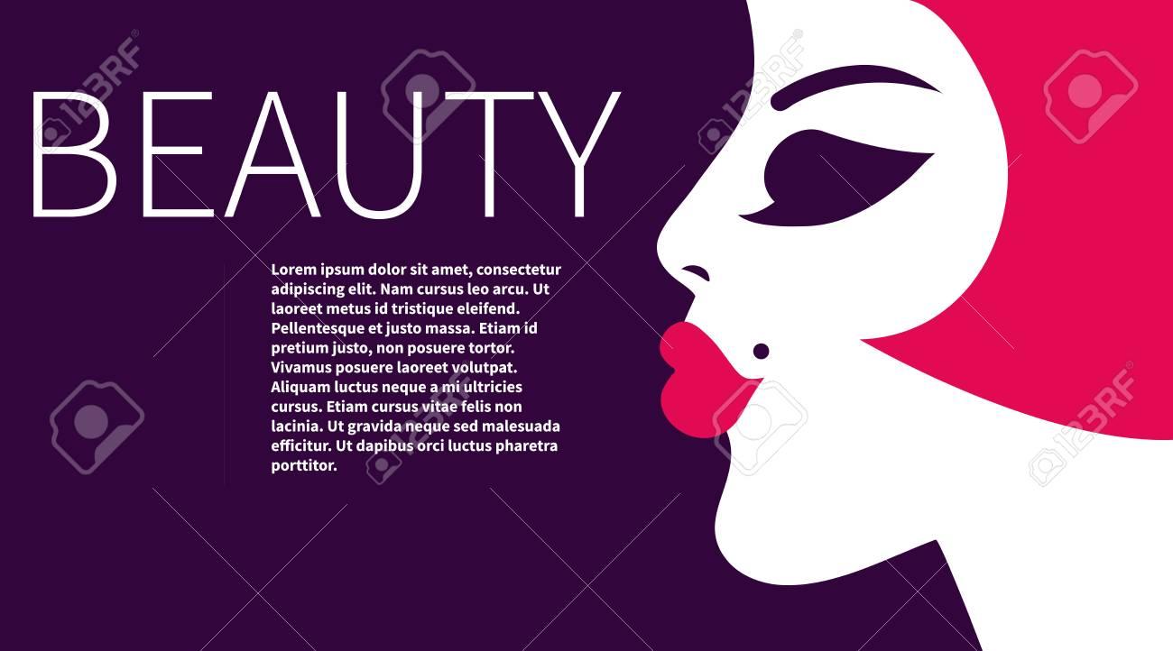Depliant A La Belle Carte De Visite Professionnelle Maquillage Flyer