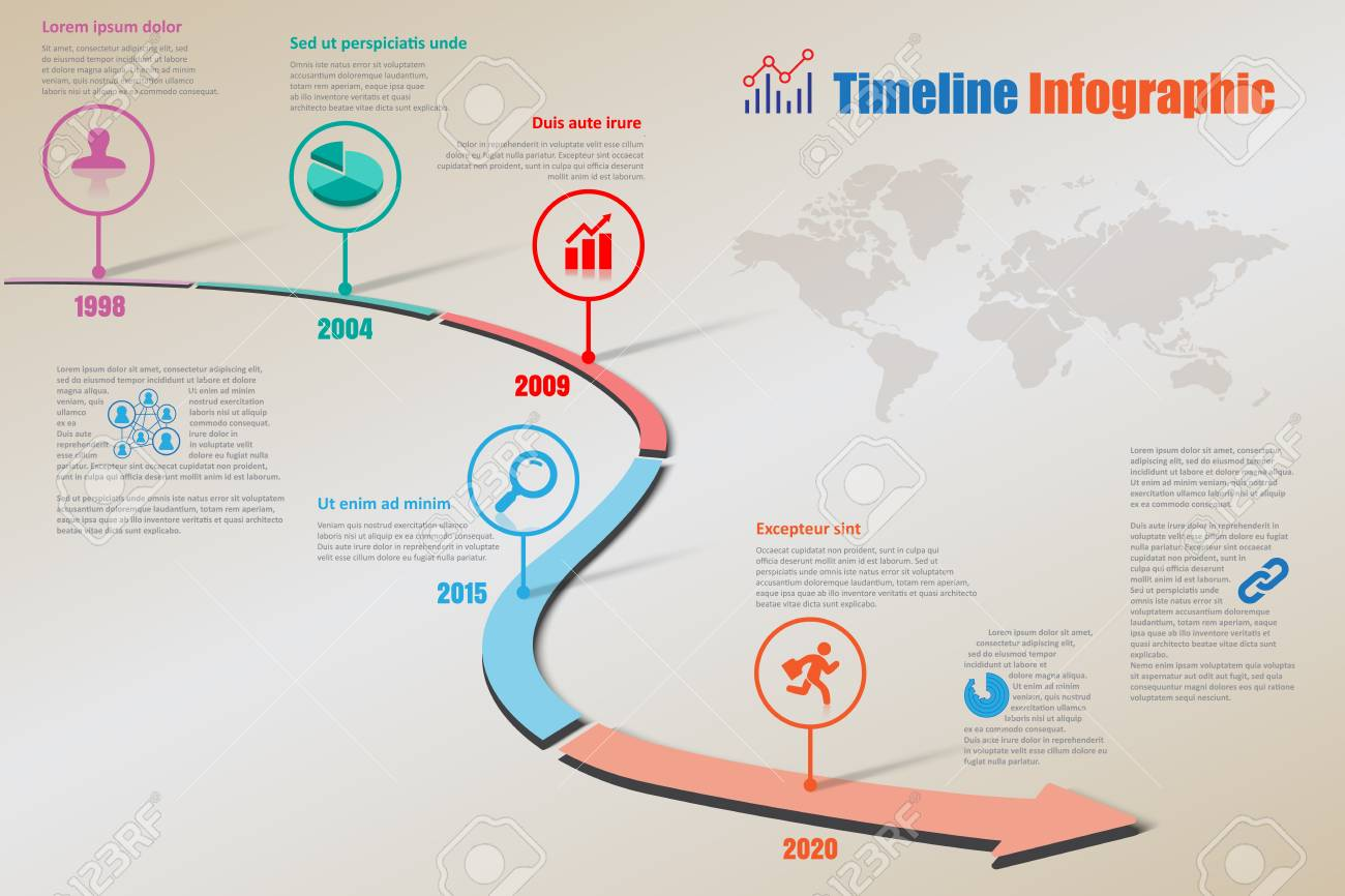 Design template road map timeline infographic brochure diagram banco de imagens design template road map timeline infographic brochure diagram planning presentation process webpages workflow vector illustration ccuart Choice Image