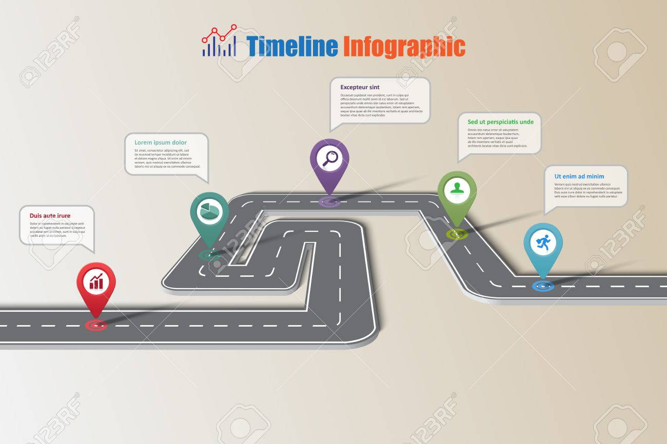 Modern Road Diagram All Kind Of Wiring Diagrams Telecaster Business Map Timeline Infographic Icons Designed For Abstract Rh 123rf Com Floor Plan Art