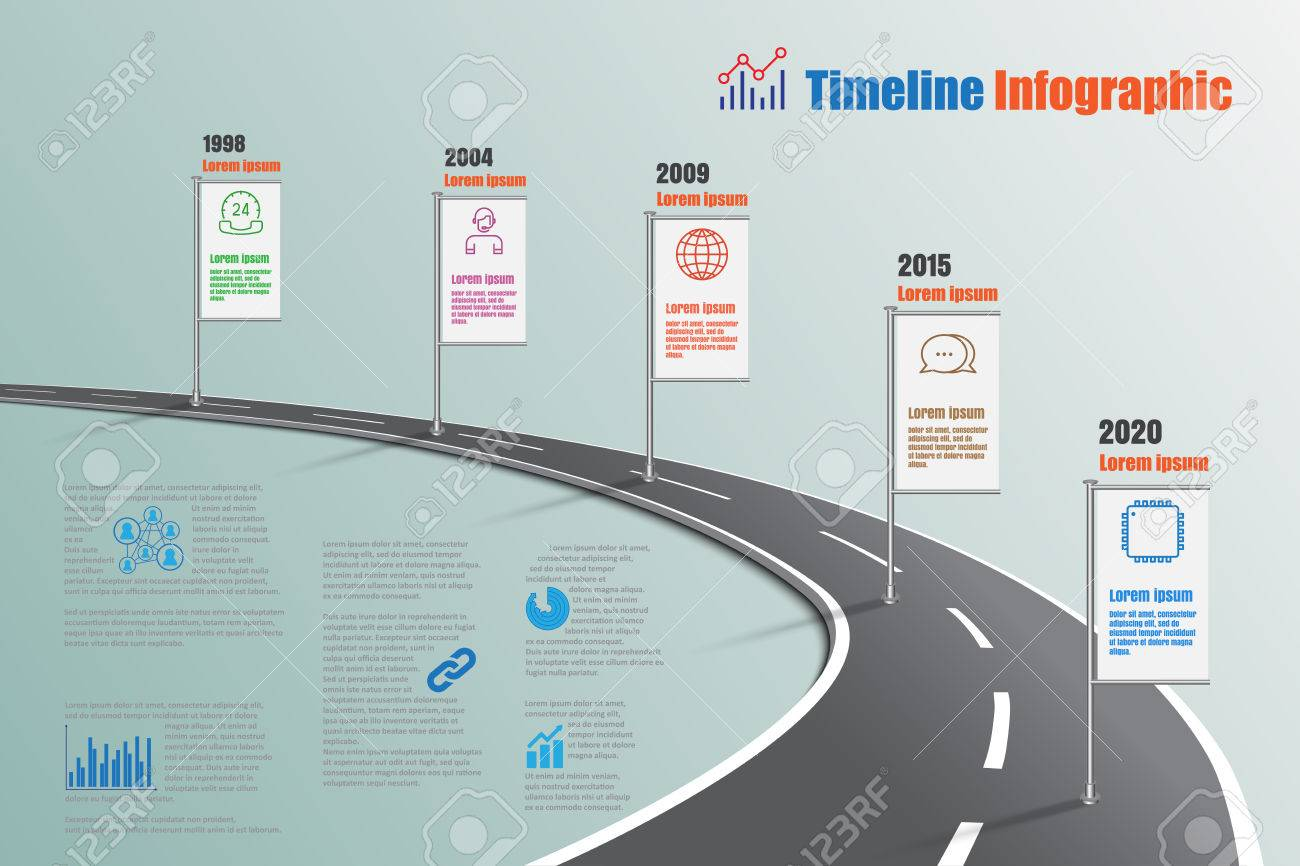 Business road map timeline infographic icons designed for abstract banco de imagens business road map timeline infographic icons designed for abstract background template milestone element modern diagram process ccuart Image collections