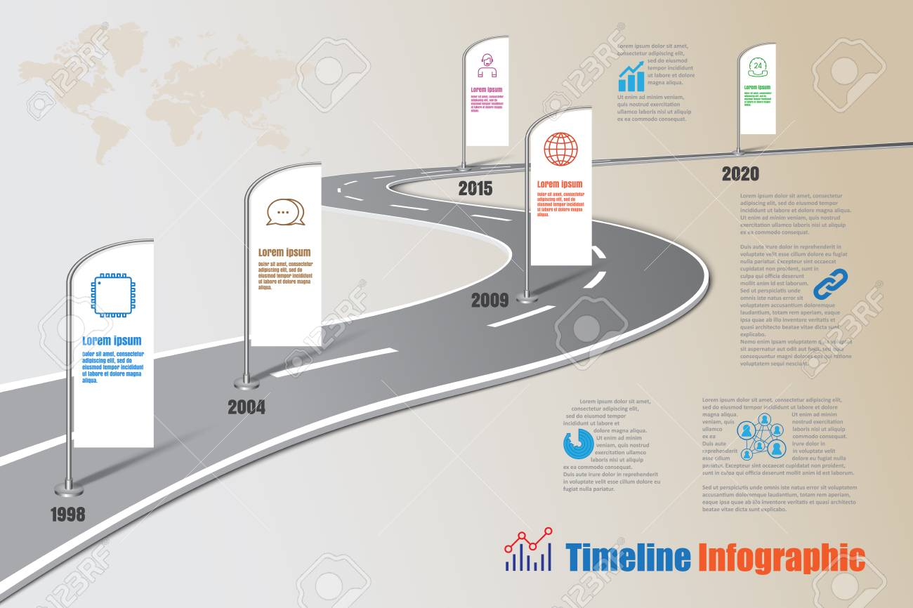 Business road map timeline infographic icons designed for abstract banco de imagens business road map timeline infographic icons designed for abstract background template milestone element modern diagram process ccuart Choice Image