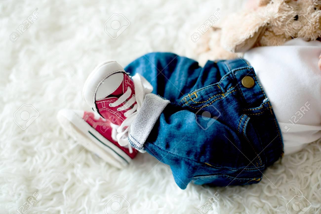 Little Newborn Baby Boys Feet, Baby