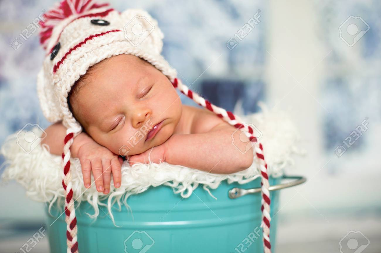 Portrait Of A Newborn Baby Boy 58bd6bb69ef7