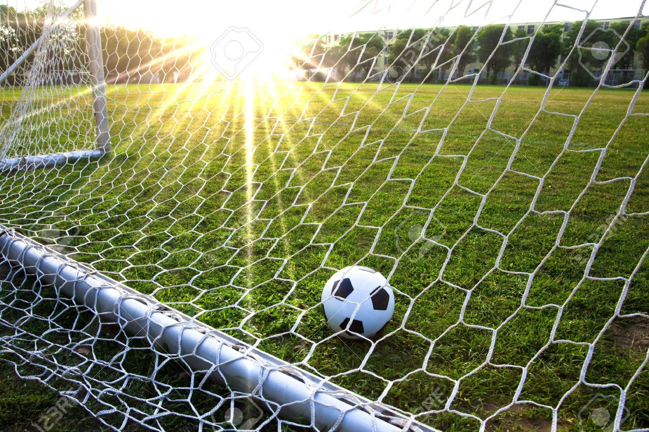 grass soccer field with goal. interesting goal a soccer ball in grass field and goal stock photo  6996265 and grass soccer field with goal