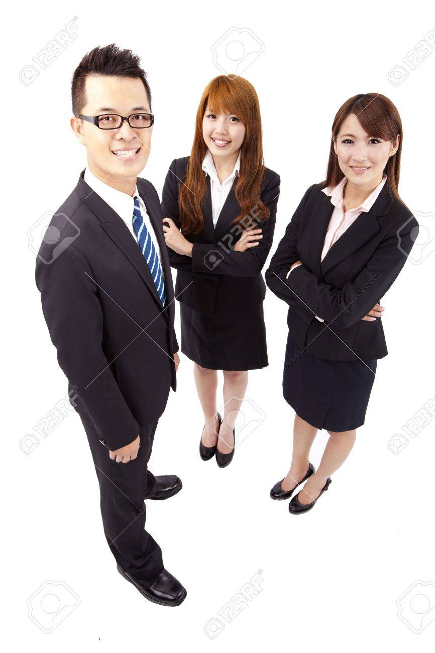 Young asian business team Stock Photo - 9486301