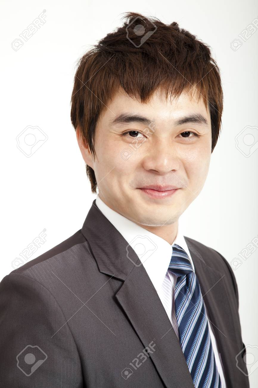 smiling asian businessman Stock Photo - 13208433