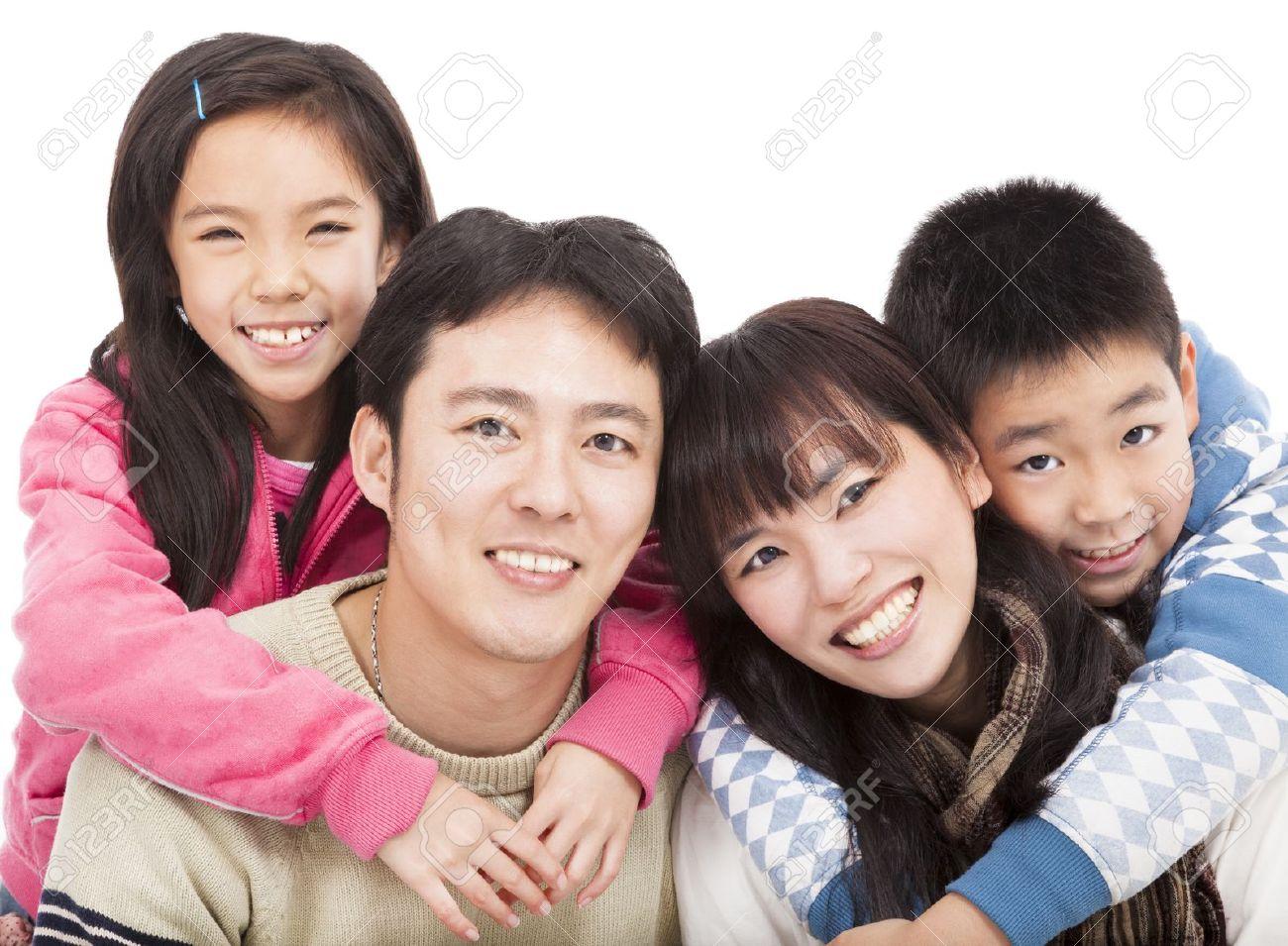 happy asian family Stock Photo - 17132482