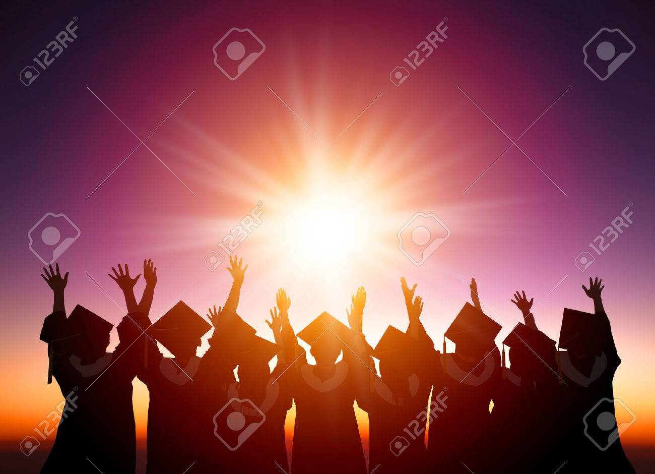 Graduation Background Stock Photos And Images - 123RF