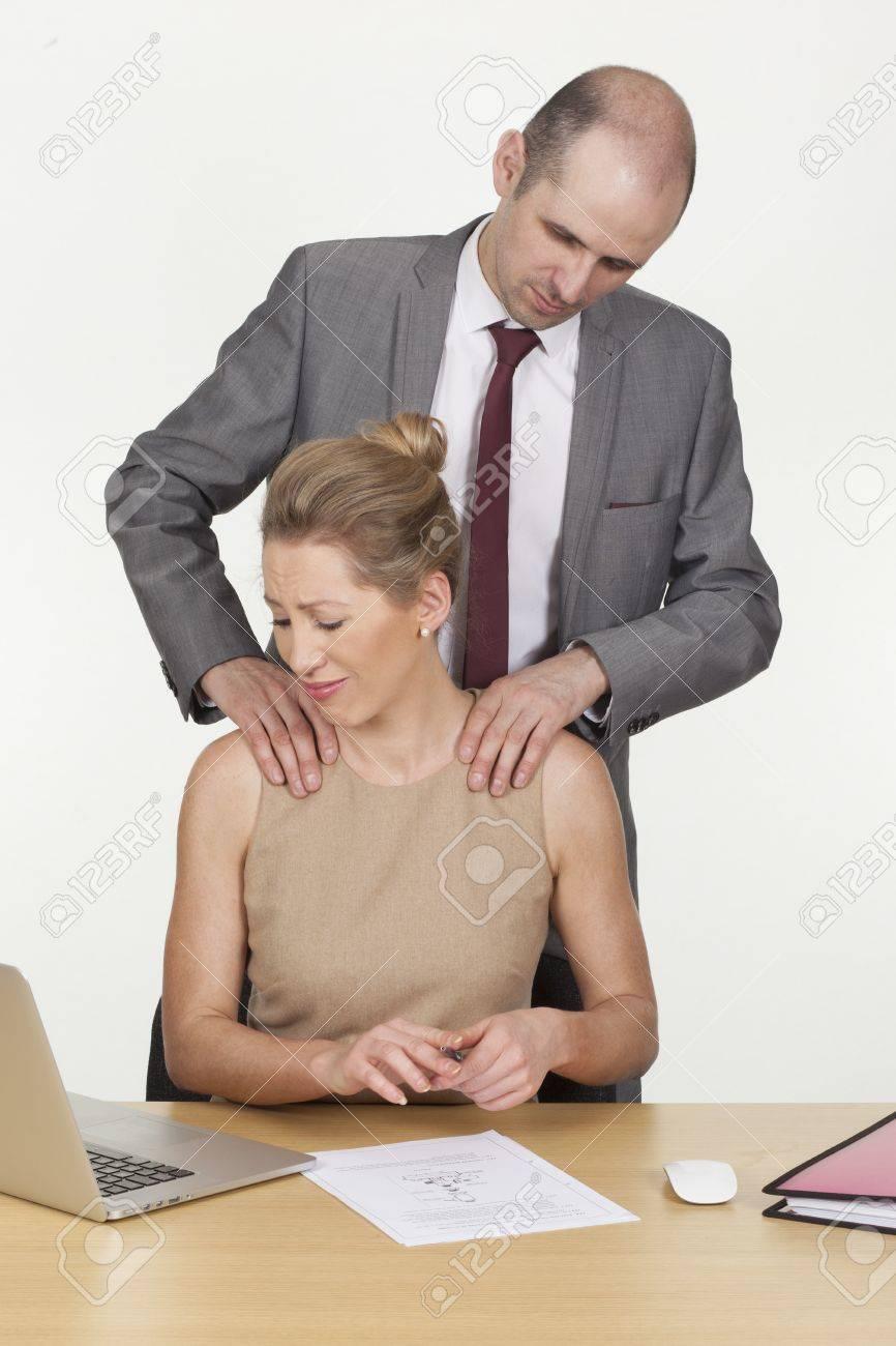 Сексуальное домогательство на рабочий стол