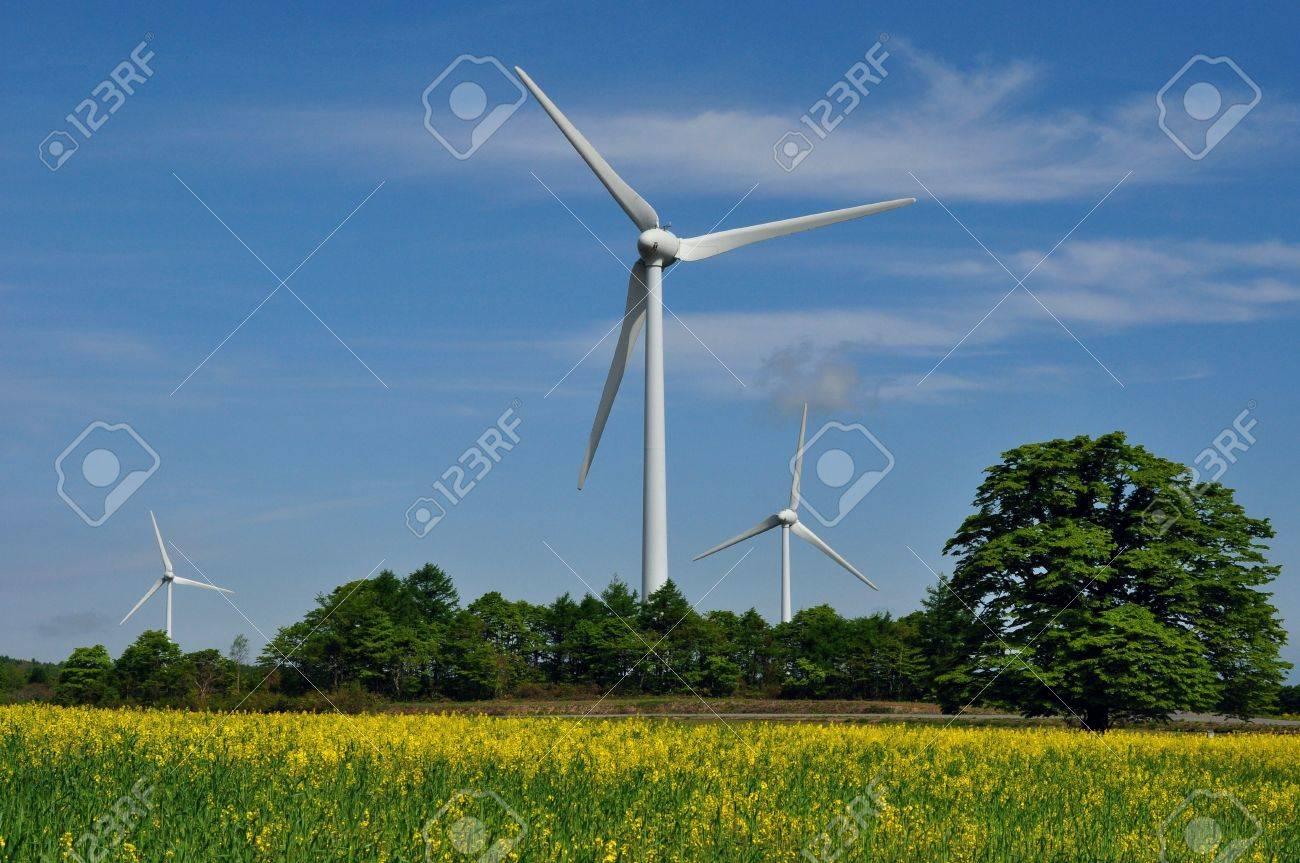 wind power generation Stock Photo - 18095255