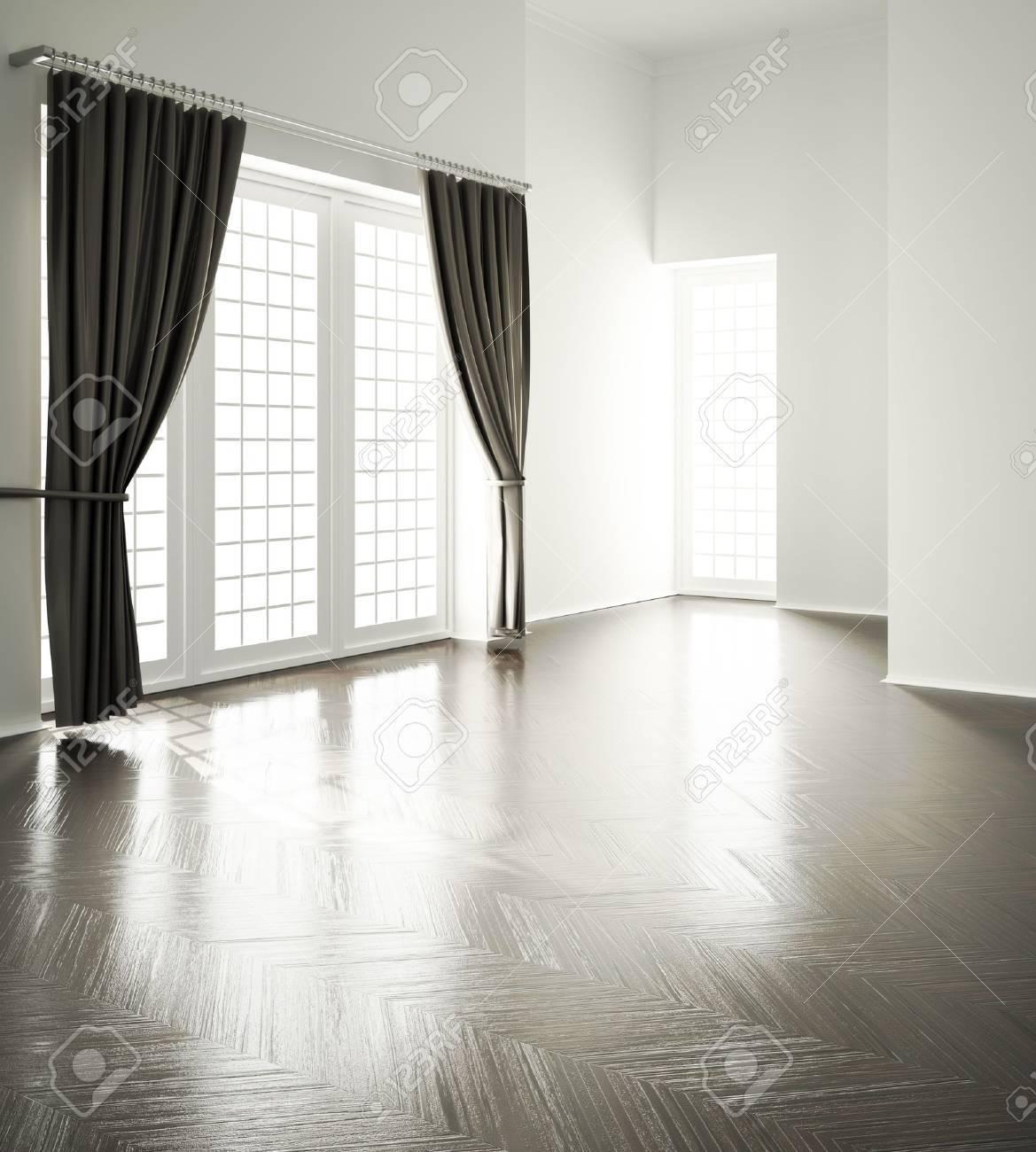 Living Room Background Empty