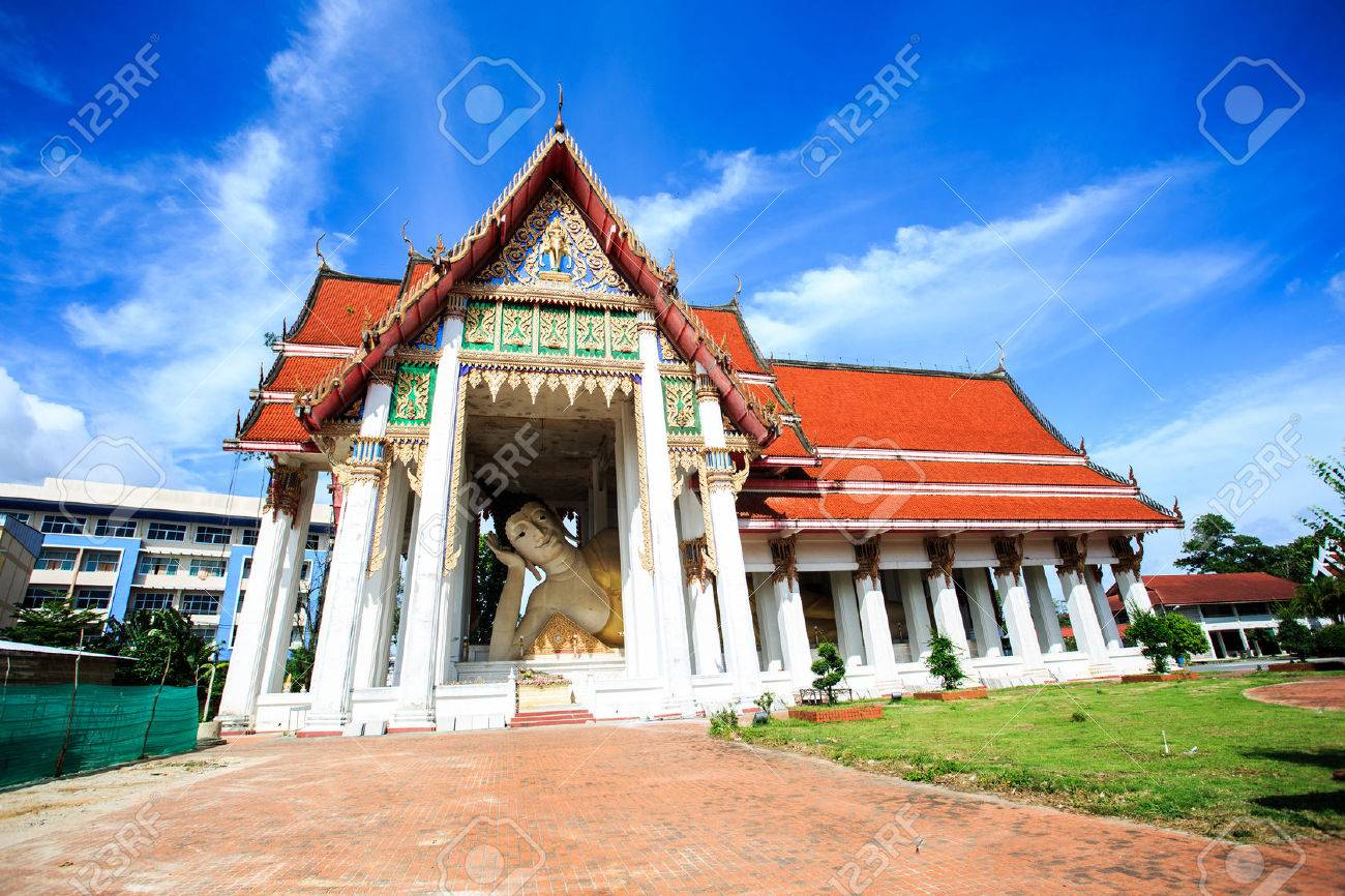Wat Hat Yai Nai is the site of a large reclining Buddha  believed to be & Wat Hat Yai Nai Is The Site Of A Large Reclining Buddha  Believed ... islam-shia.org