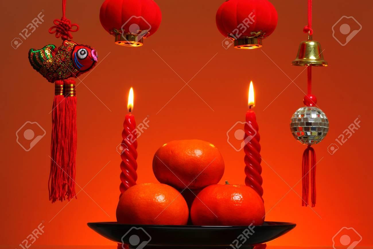 Chinese New Year Background Stock Photo - 17564037
