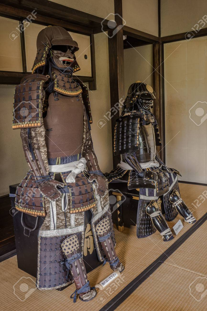 Japanese Samurai Tradition Armor In Samurai House In Chiba Japan Stock Photo Picture And Royalty Free Image Image 40851722