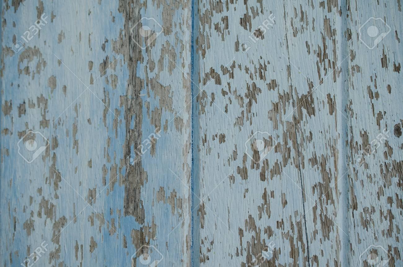 Holz Gemalt Eine Verblasste Alte Farbe Eine Erstaunliche