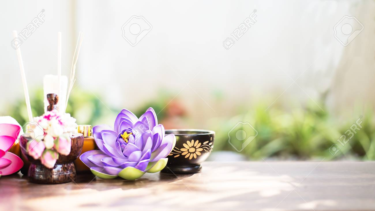 Spa still life with perfume bottle and lotus flowerspa massage spa still life with perfume bottle and lotus flowerspa massage compress balls herbal izmirmasajfo