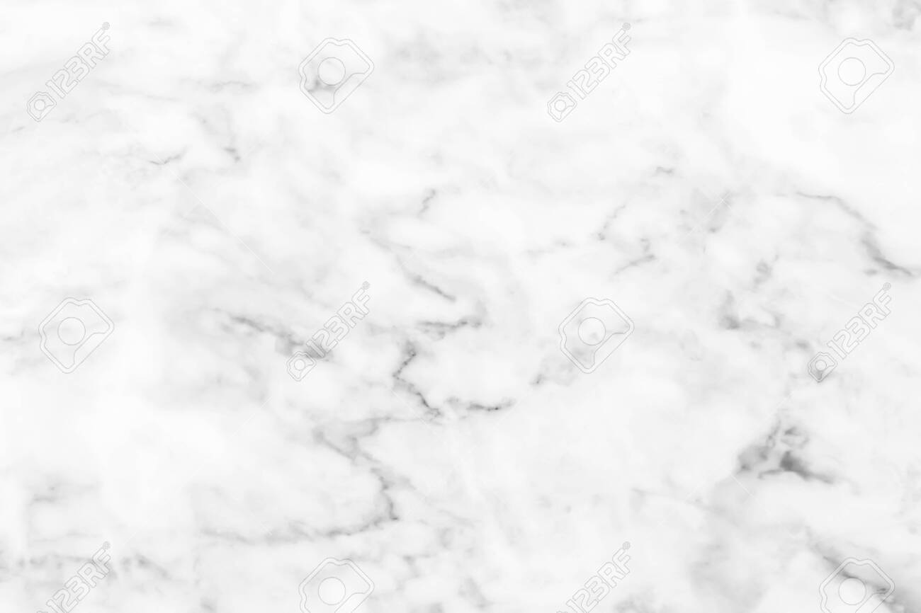 White marble texture with natural pattern for wallpaper background or design art work. - 122461504