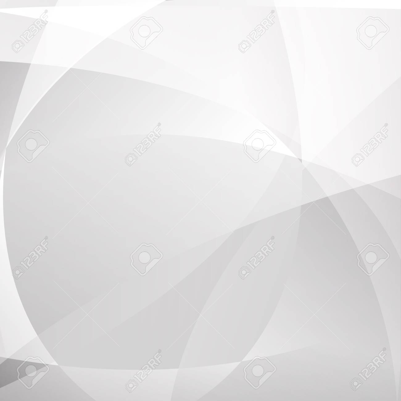 Abstract geometric modern white and gray color background, light and shadow, vector illustration. - 125940483