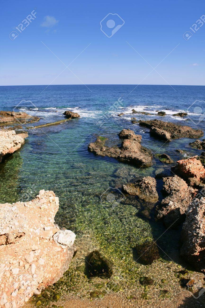 Beach Las Rotas in Spain Denia