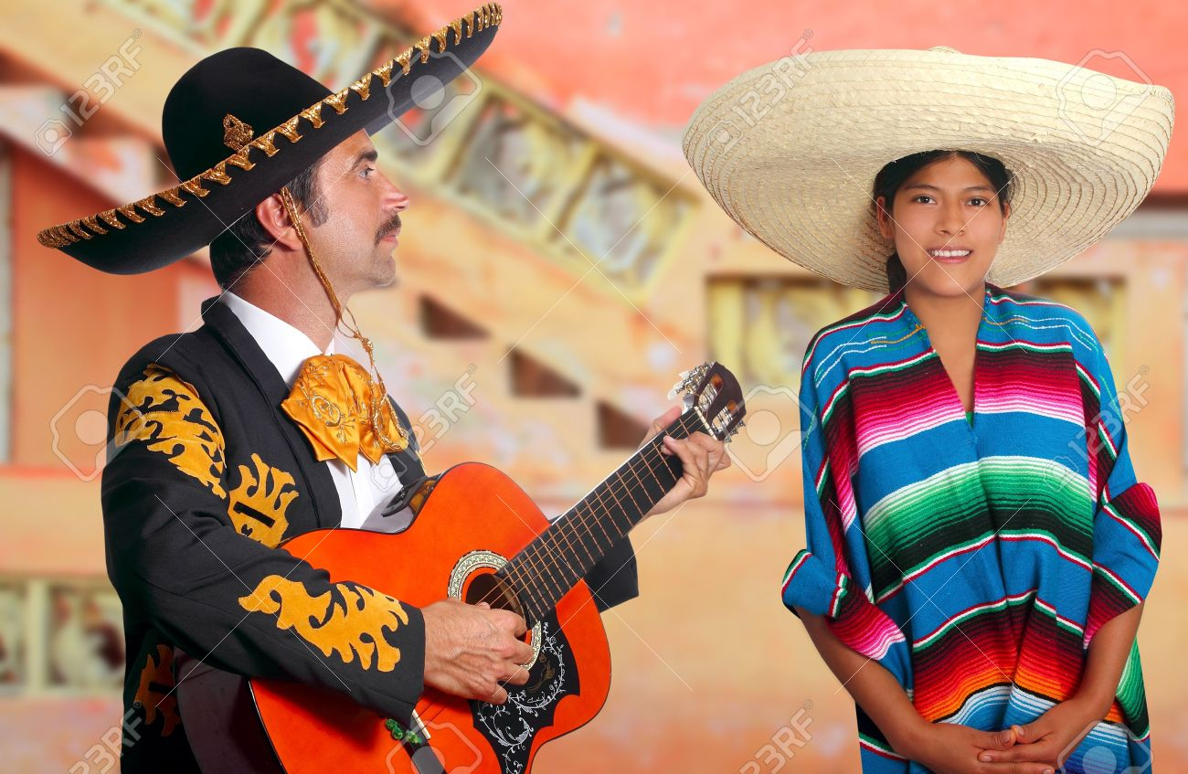 typisches mexikanisches Mädchen