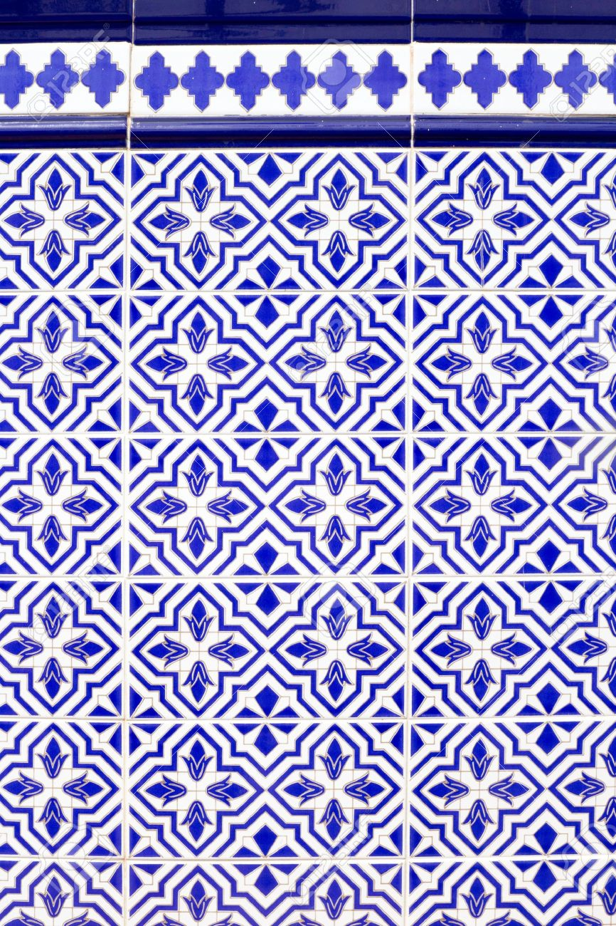 Andalusian style spanish blue ceramic tiles pattern stock photo andalusian style spanish blue ceramic tiles pattern stock photo 10786848 dailygadgetfo Choice Image