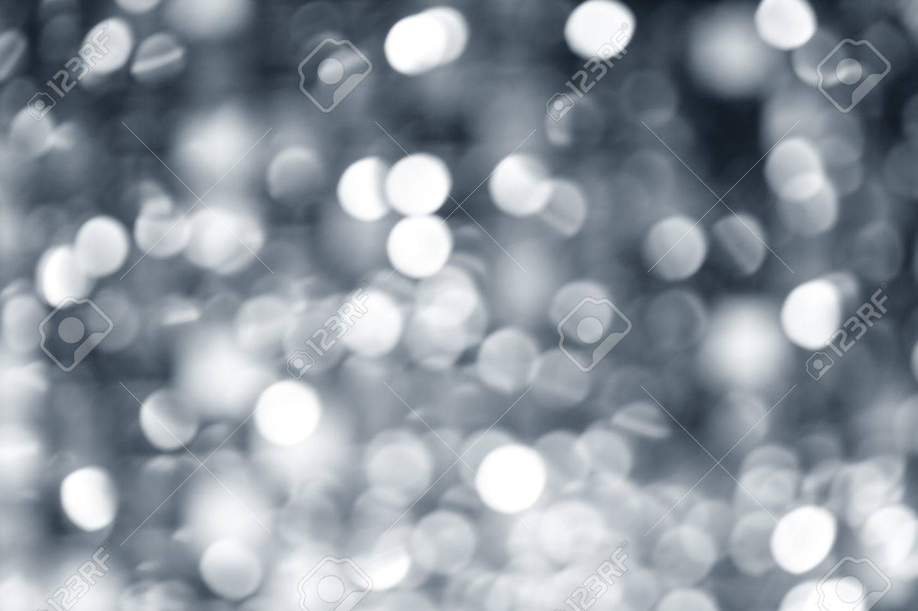 abstract defocused blur silver christmas lights background stock photo 10743066 - Silver Christmas Lights