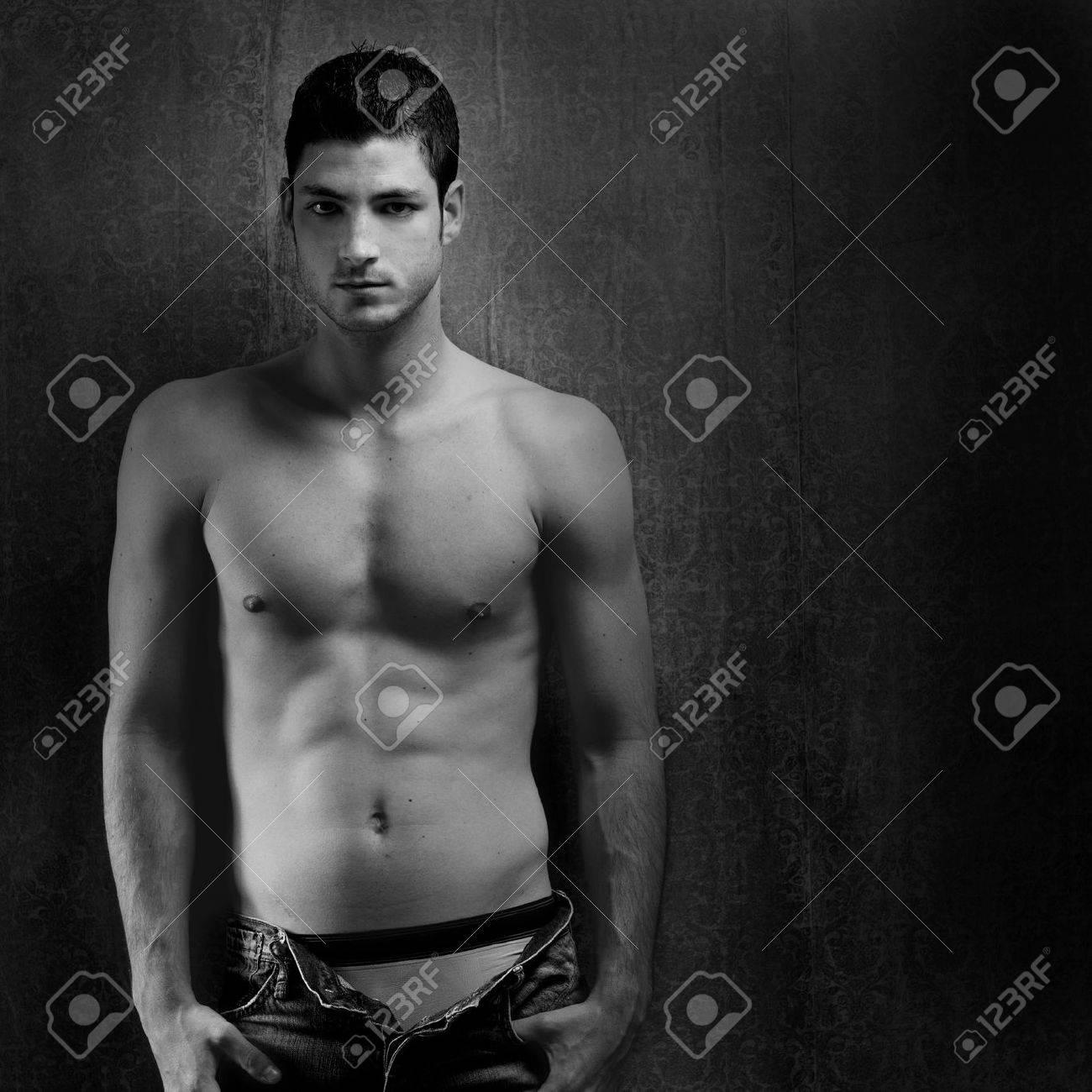 Sexy Mann Hintergrund