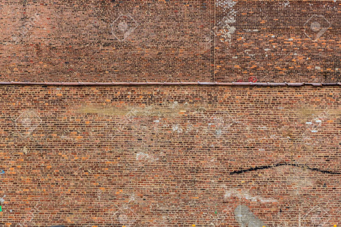 New York Manhattan Grunge Brick Wall Brickwall Texture Us Stock