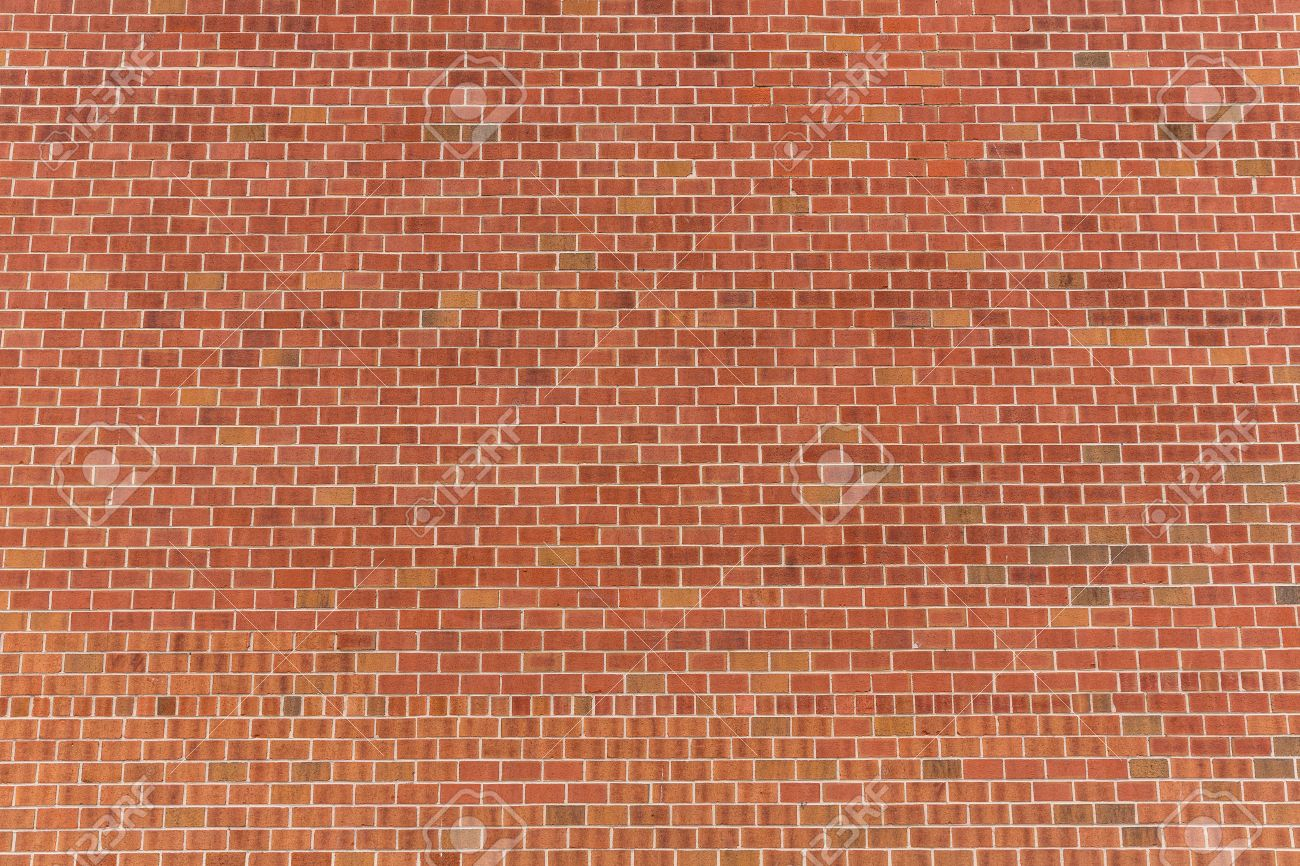 New York Brickwall Brick Wall Red Texture Pattern Background Stock