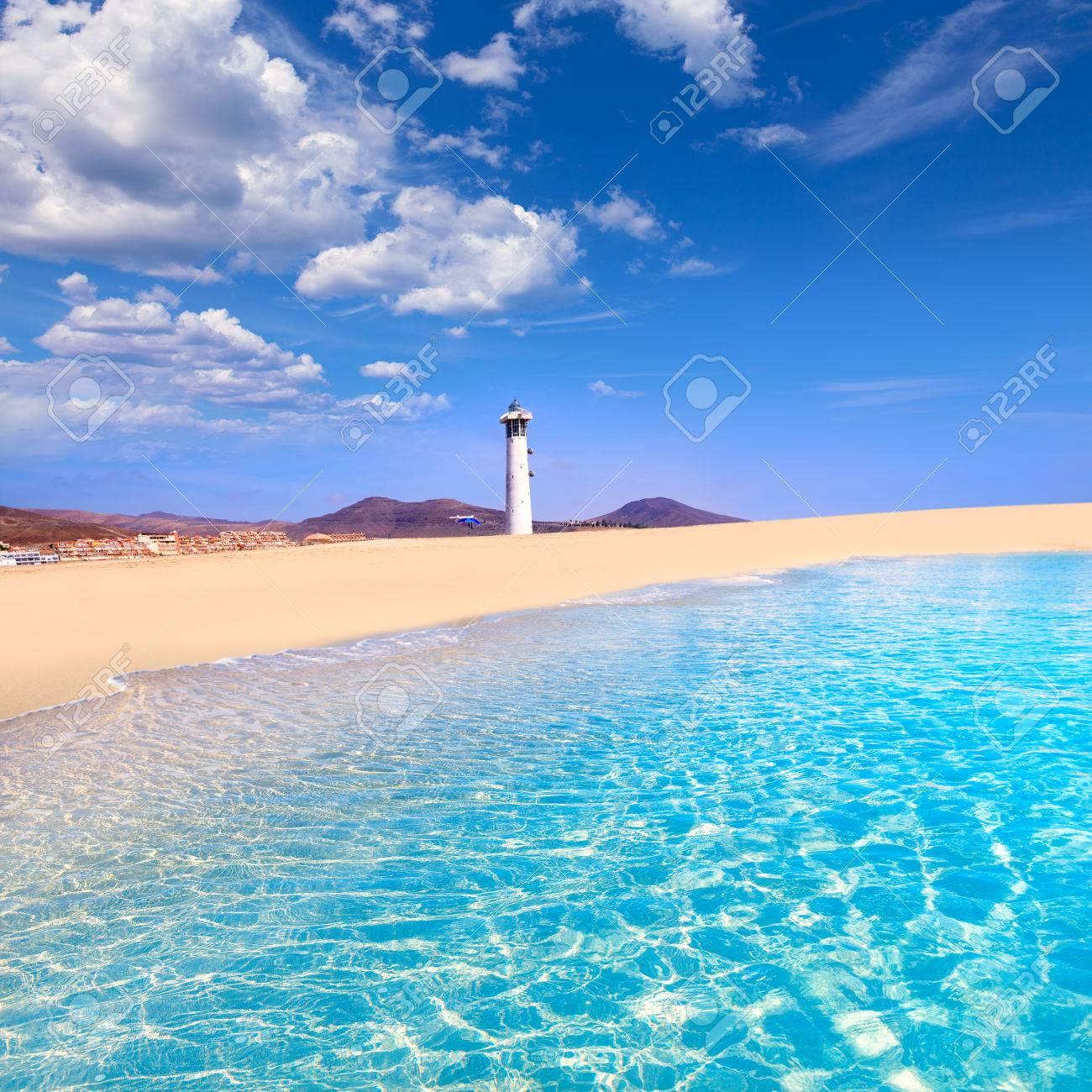 plage Morro Jable Matorral Jandia à Pájara de Fuerteventura aux îles Canaries Banque d'images - 51647960