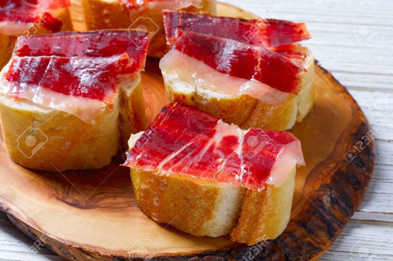 Recetas de tapas con jamon iberico