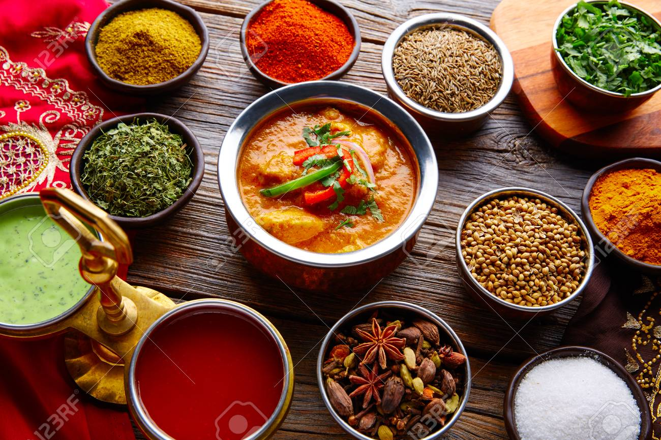 Chicken jalfrazy indian food recipe with spices on wooden table chicken jalfrazy indian food recipe with spices on wooden table stock photo 78645442 forumfinder Choice Image