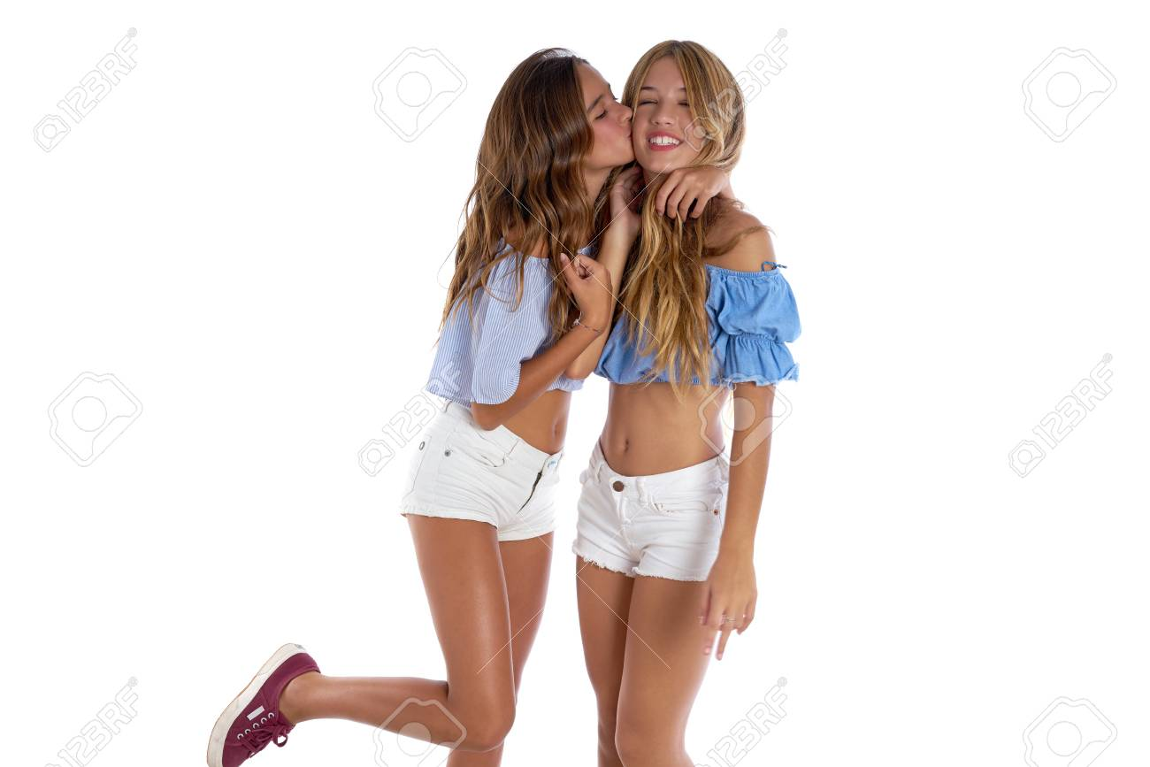 Beste freunde küssen