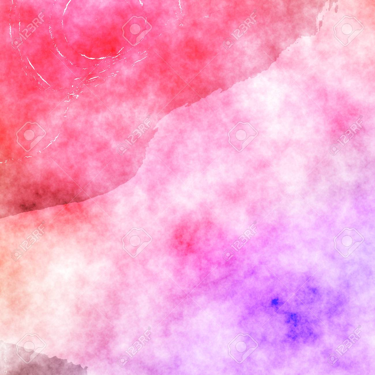 Pink Violet Watercolor Painting Texture Effect Beautiful Background Design Graphic In High Resolution For Your