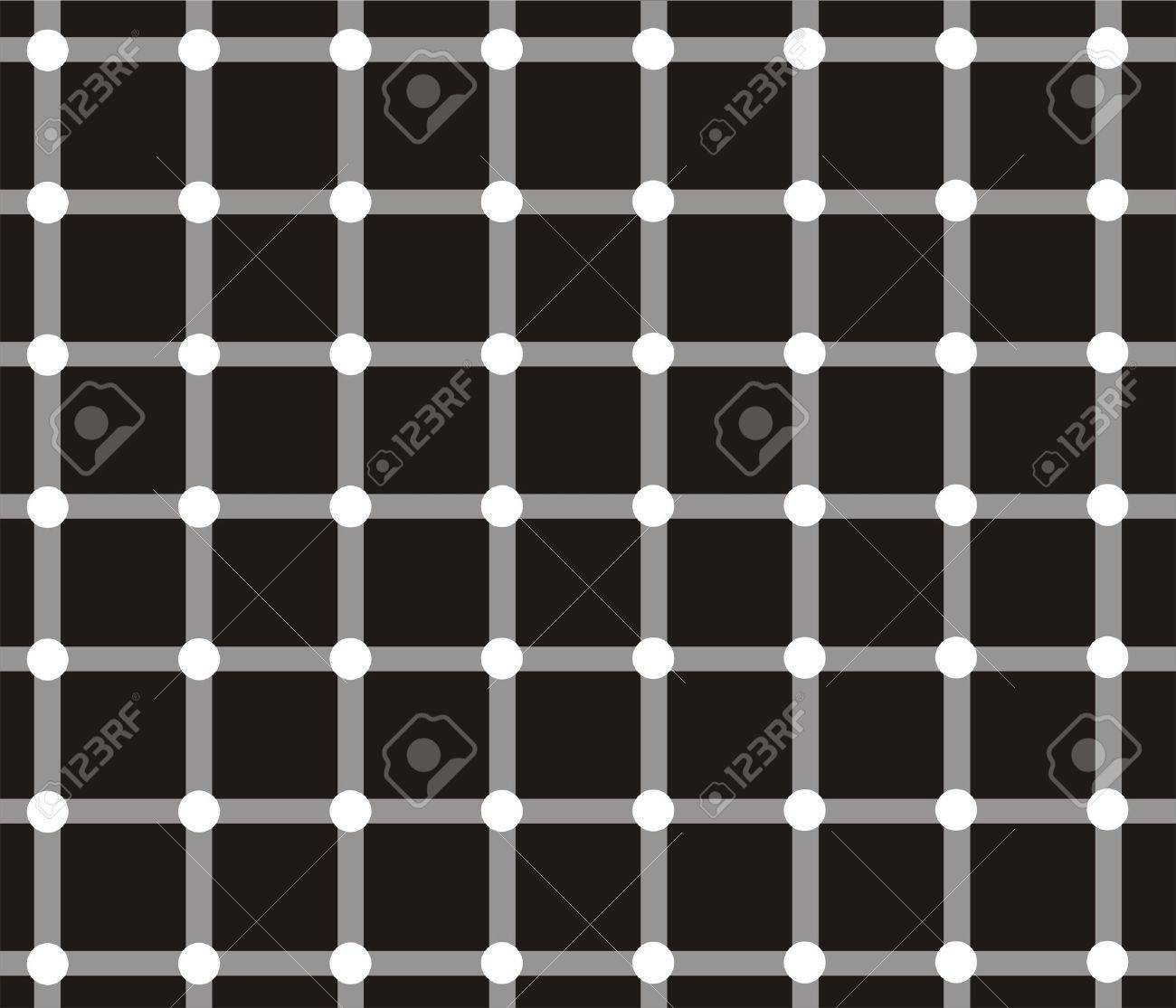 Dark spots seem to appear and disappear very quickly at the intersections Stock Photo - 8194970