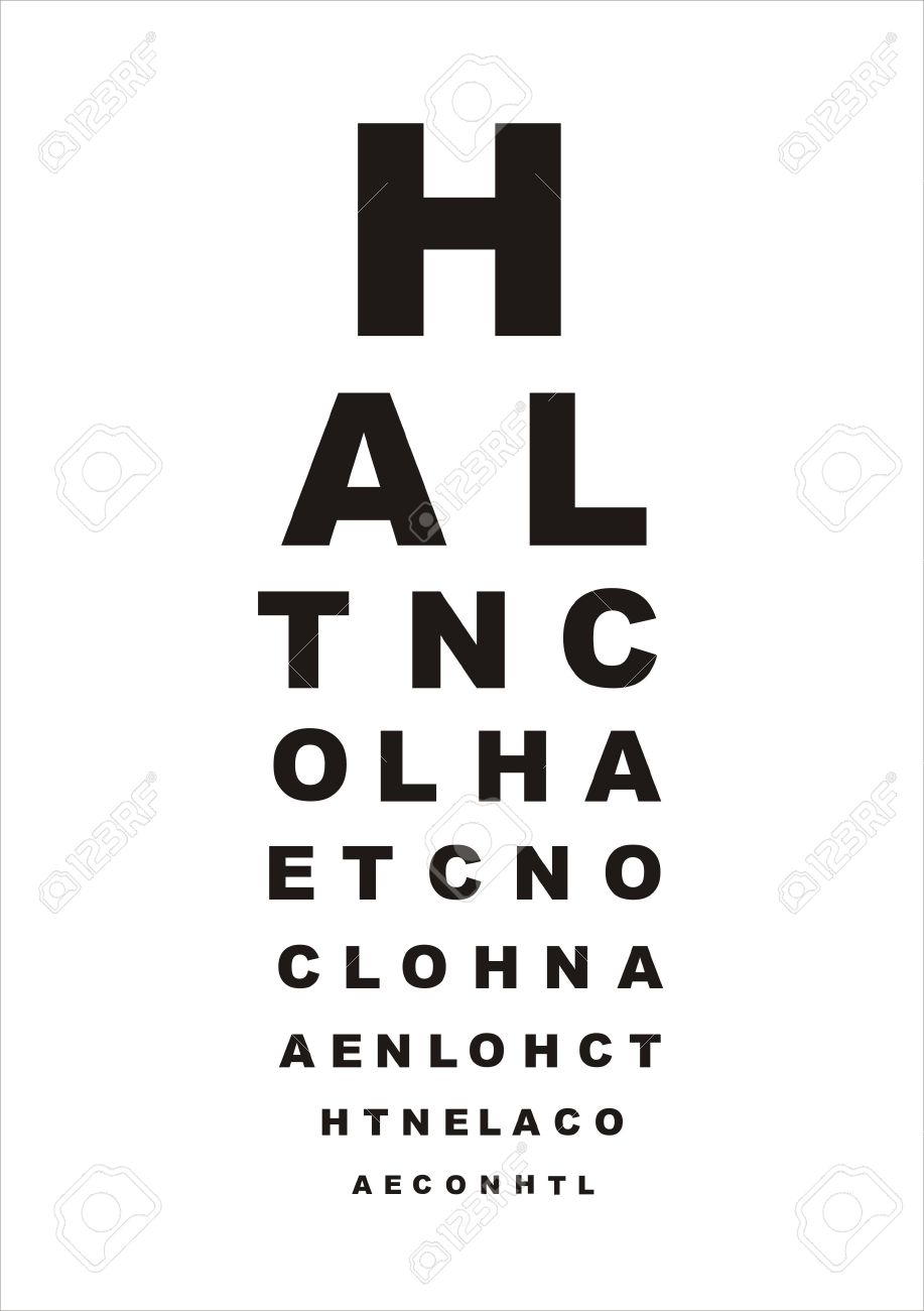 Vector eye test chart with letters on white background stock photo vector eye test chart with letters on white background stock photo 8252809 nvjuhfo Images